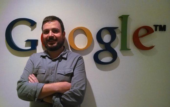 Alessandro Sassaroli é o homem do Google que faz parcerias com vlogueiros gamers (Foto: Divulgação/Google)