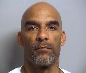 Eric Harris, de 44 anos, suspeito em uma operação encoberta de venda de armas, foi executado em 2 de abril  (Foto: Tulsa County Sheriff's Office via AP)