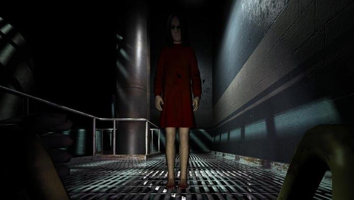 F.E.A.R se desenrola entre os momentos de suspense e visões paranormais (Foto: Divulgação)