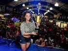 Viviane Araújo participa de premiação para os melhores do carnaval 2013