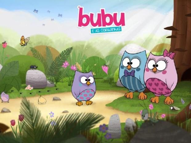 Personagem 'Bubu' vira desenho animado para canal internacional (Foto: Up Licensing/Divulgação)