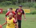 """PC espera Marcelo Costa """"no mesmo nível"""" para poder usá-lo no Joinville"""