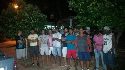 Jogadores vão à polícia para denunciar descumprimento de contrato no Misto (Foto: Divulgação/Grupo RCN de Comunicação)