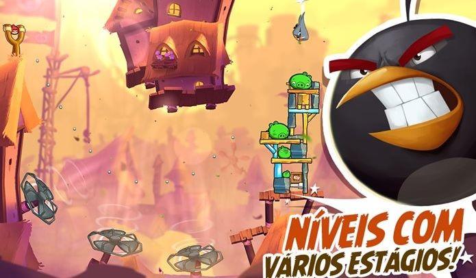 04ab1717bf Angry Birds 2 renova a franquia com jogabilidade viciante (Foto  Divulgação    Rovio)