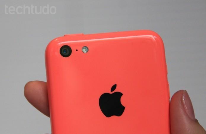 iPhone 5C pode ser descontinuado pela Apple após lançamento de novos modelos em setembro (Foto: Isadora Díaz/TechTudo) (Foto: iPhone 5C pode ser descontinuado pela Apple após lançamento de novos modelos em setembro (Foto: Isadora Díaz/TechTudo))