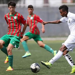 Rodrygo - Santos (Foto: Pedro Ernesto Guerra Azevedo/Santos FC)