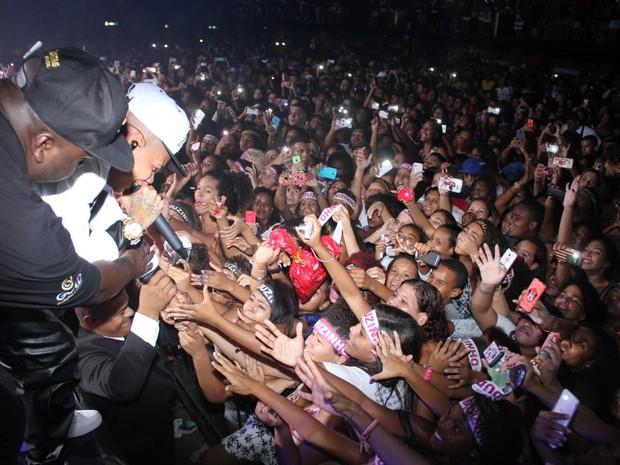 MC Duduzinho em show na Zona Norte do Rio (Foto: Divulgação)
