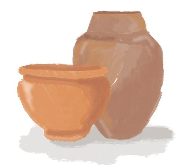 vasos (Foto: Luiz Lula)