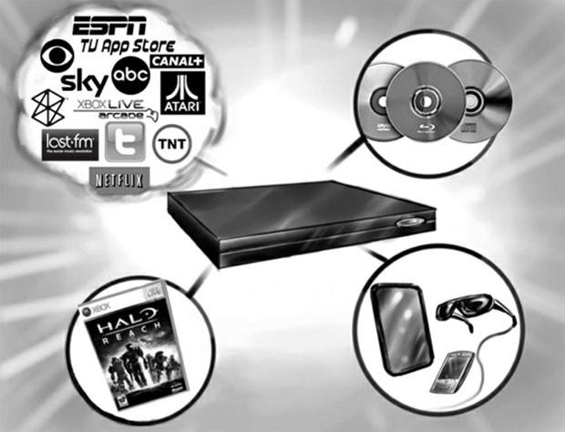 Xbox 720 chegaria às lojas em 2013 com Blu-ray, seis vezes mais potência para gráficos e diversos serviços com uso de nuvem como streaming de filmes e gravação de conteúdo de TV (Foto: Divulgação)