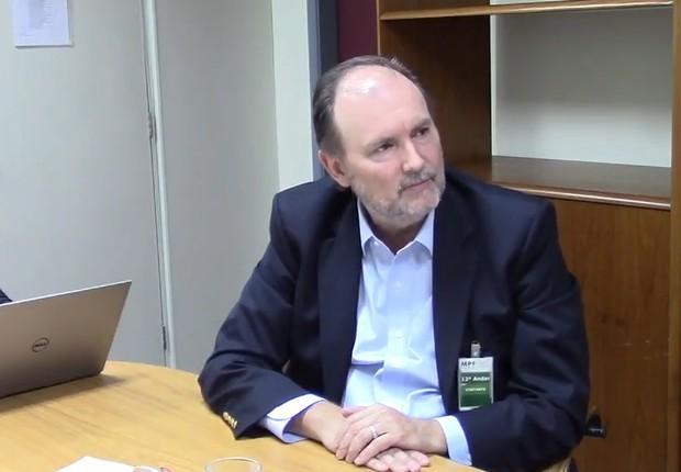 O ex-executivo da Odebrecht, Benedicto Barbosa da Silva Júnior (Foto: Reprodução/TV Globo)