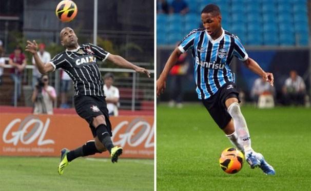 Corinthians vai a Porto Alegre para enfrentar o Grêmio, nesta quarta-feira (16) (Foto: Agência Corinthias / Site Oficial / Lucas Uebel / Grêmio FBPA)