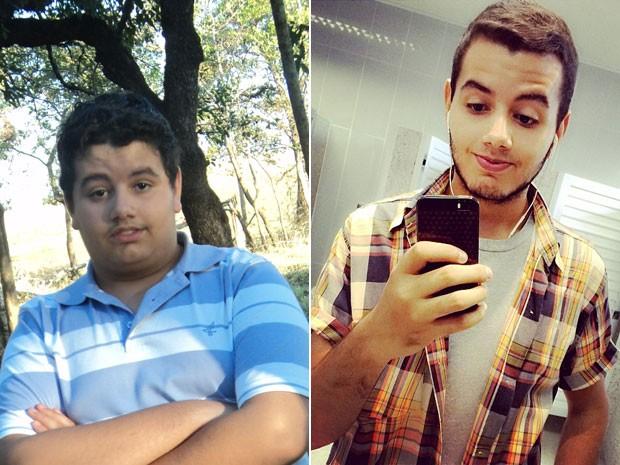 Jorge Henrique Rodrigues emagreceu 45 Kg em menos de 2 anos (Foto: Arquivo pessoal/Jorge Henrique Rodrigues)