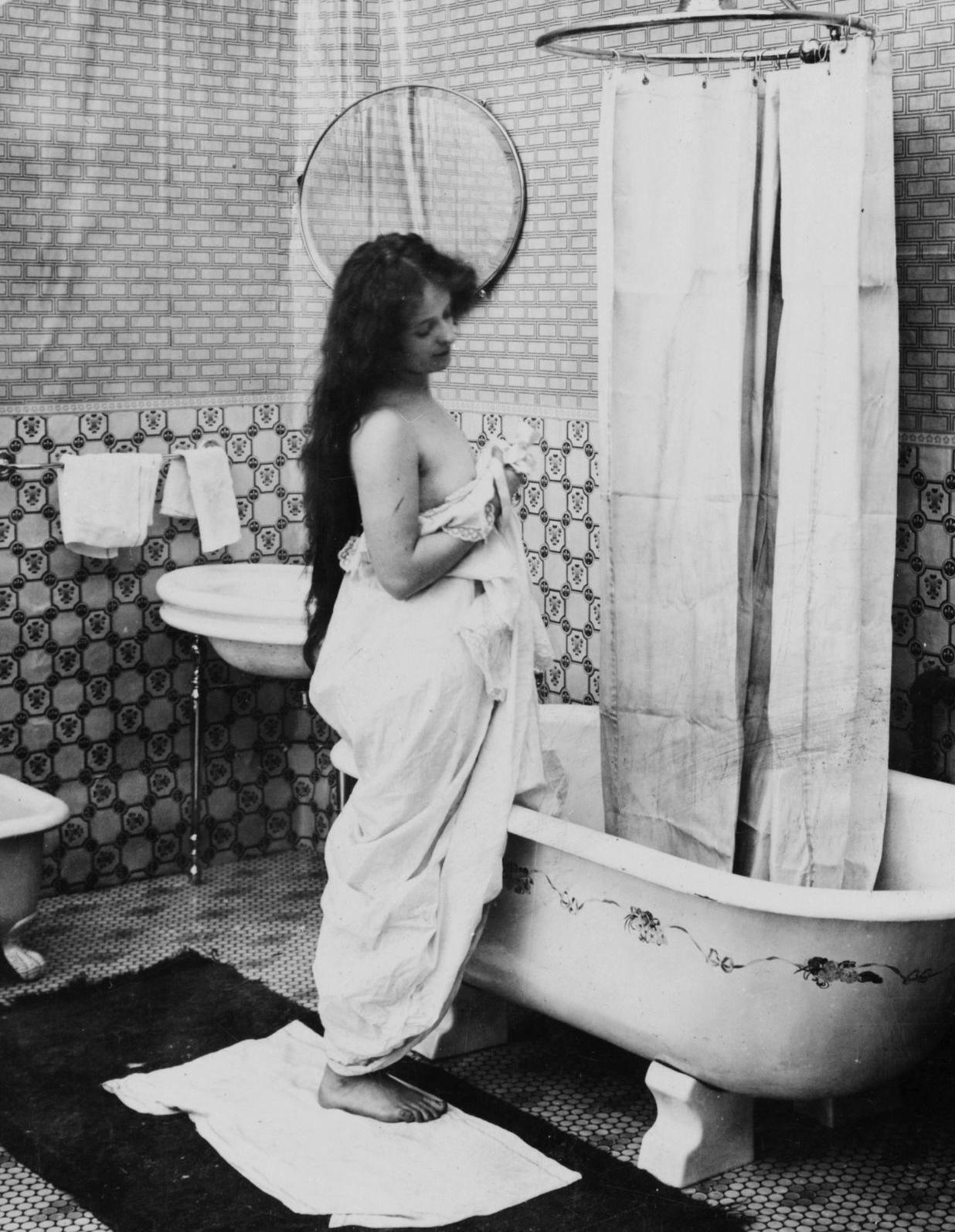 Até onde se sabe, banheiras são mais perigosas que transgênicos (Foto: Reprodução/Biblioteca do Congresso dos EUA)