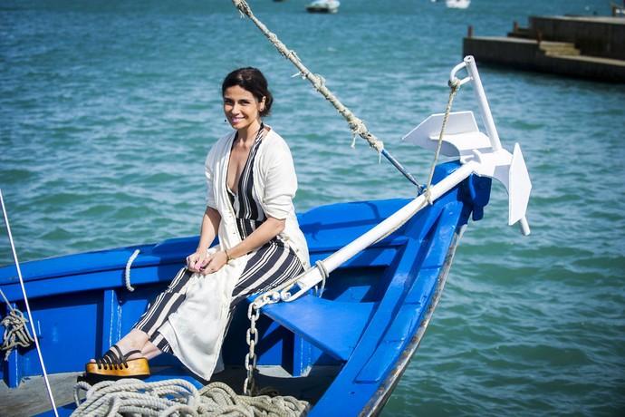 Giovanna Antonelli posa caracterizada como Alice, sua nova personagem (Foto: João Miguel Júnior/Globo)