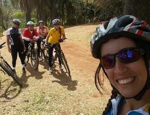 Caroline Castro Araxá Pedal (Foto: Carolline de Castro/Arquivo Pessoal)