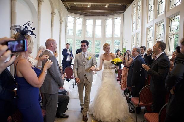 Ex-BBB Ralf Krause se casa em castelo na Inglaterra (Foto: David J Welsh / Arquivo Pessoal)