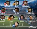 Uefa divulga seleção da rodada da Champions com Willian e Alex Sandro