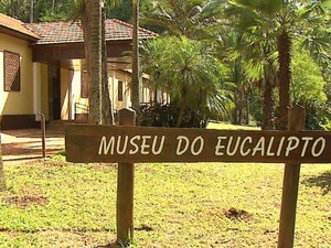 Museu do Eucalipto foi reinagurado em Rio Claro (Foto: Marlon Tavoni/ EPTV)