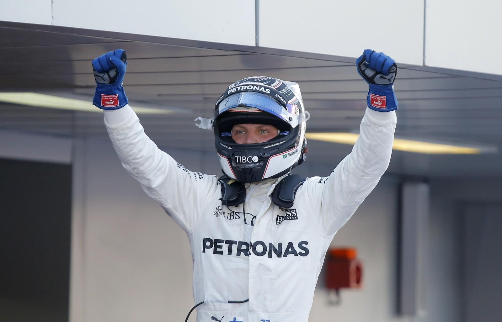Após largada perfeita, Bottas segura Vettel no fim e vence a primeira na Fórmula 1