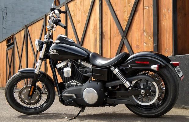Harley-Davidson Street Bob (Foto: Divulgação)