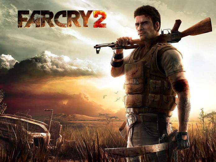 Far Cry 2 era mais realista e se passou na África (Foto: Divulgação)