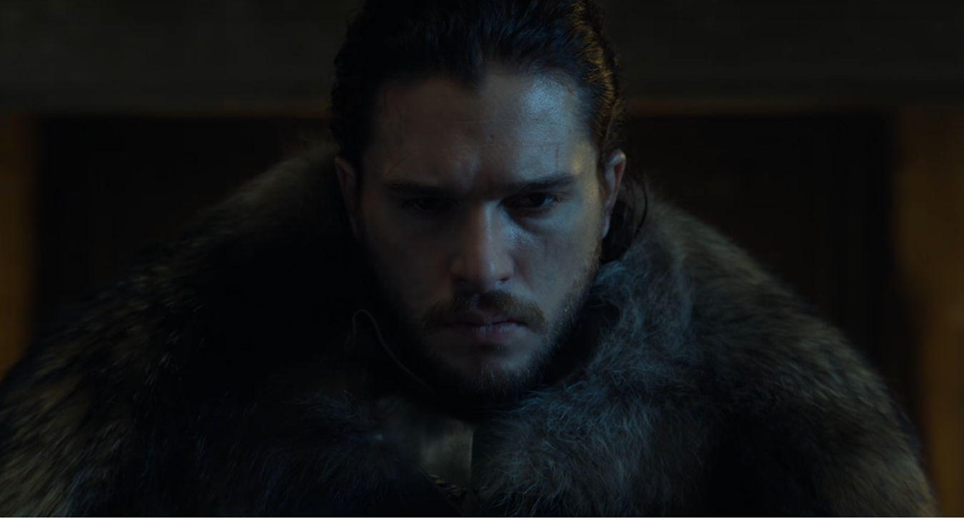 Jon Snow aparece em teaser da sétima temporada de 'Game of Thrones' (Foto: Reprodução/Youtube)