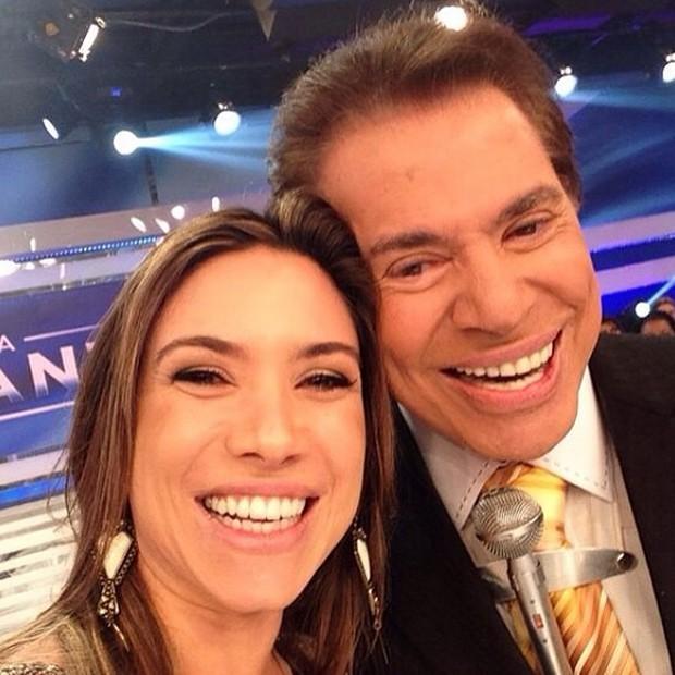 Patrícia Abravanel e Silvio Santos (Foto: Reprodução/Instagram)