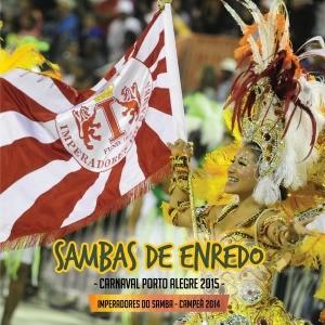 Capa CD Carnaval 2015 (Foto: Reprodução)