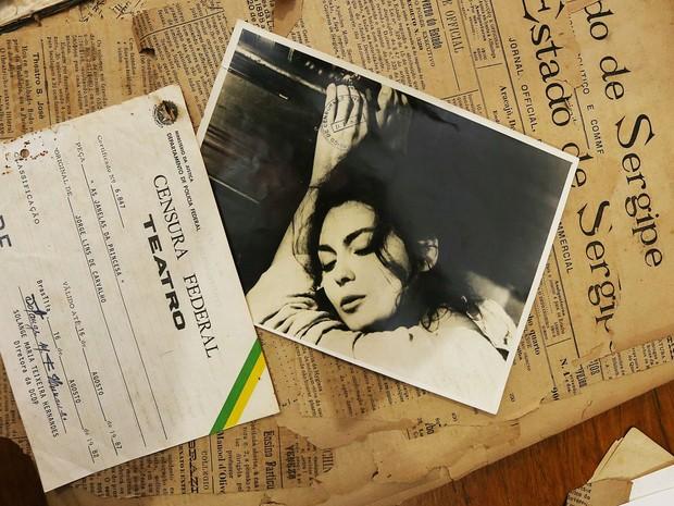 Documentos marcam a censura em Aracaju (Foto: Silvio Rocha/Divulgação/PMA-SE)