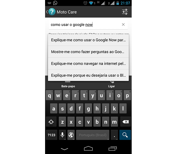 Moto Care responde dúvidas e cria linha direta com suporte técnico via telefone ou SMS (Foto: Reprodução/Paulo Alves) (Foto: Moto Care responde dúvidas e cria linha direta com suporte técnico via telefone ou SMS (Foto: Reprodução/Paulo Alves))