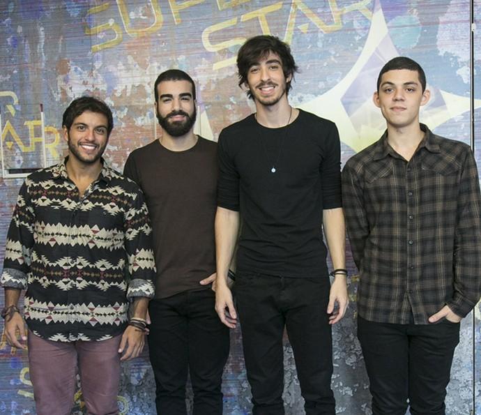 Banda OutroEu, do 'SuperStar' (Foto: Raphael Dias/Gshow)
