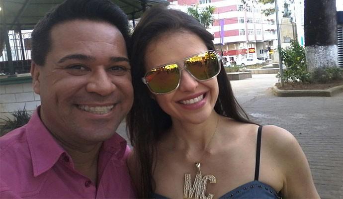 Marcelo Honorato e MC Vizinha vão animar sua tarde de sábado (Foto: Divulgação   Tô Indo)