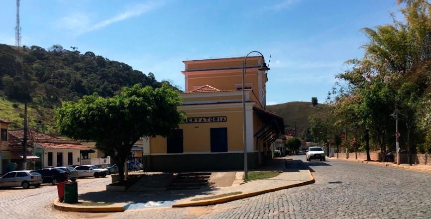 Estação de trem da cidade