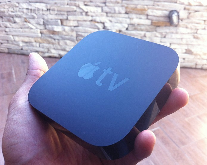 apple tv marca (Foto: Marvin Costa/TechTudo)