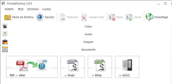 Converta também documentos (Foto: Reprodução/Paulo Alves)