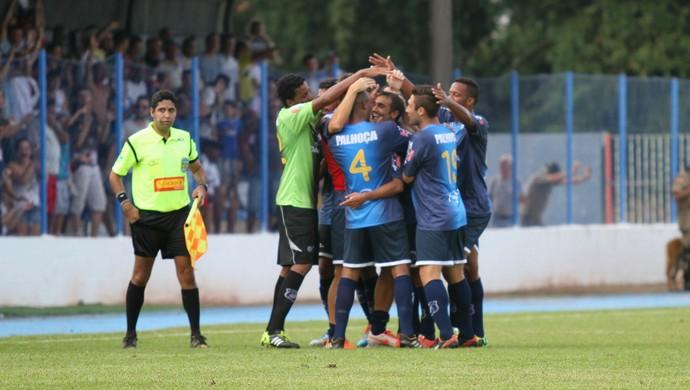 Hégon Guarani de Palhoça x Avaí comemoração (Foto: Jamira Furlani/Avaí FC)