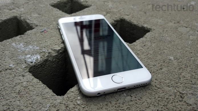 "iPhone 6S: tela de 4,7"" com 3D Touch (Foto: Thássius Veloso/TechTudo)"