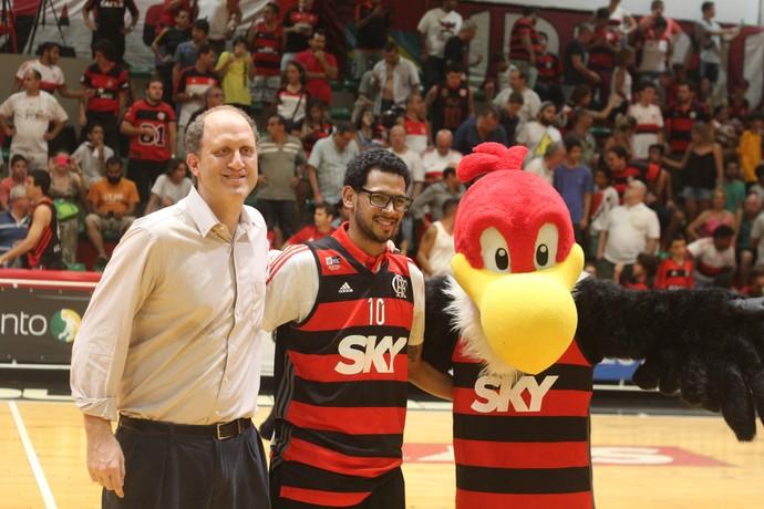 Ronald Ramon, Flamengo x Macaé (Foto: Raphael Bózeo / Macaé Basquete)