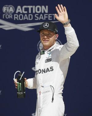 Nico Rosberg; GP dos EUA; Fórmula 1 (Foto: AP)