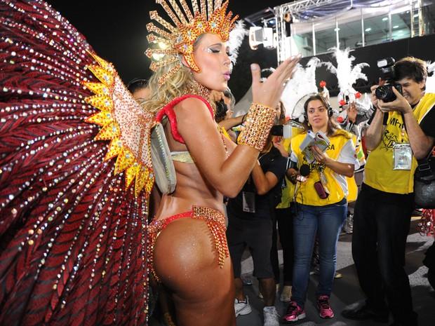 ANDRESSA URACH leandro (Foto: Flavio Moraes/G1)