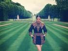 Família Kardashian vai a brunch organizado pelo estilista Valentino