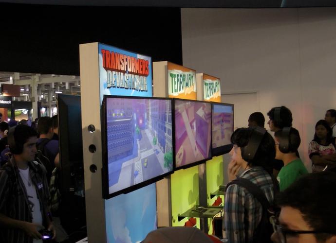 Capixabas também participaram do Brasil Game Show como expositores (Foto: Divulgação/ TV Gazeta)