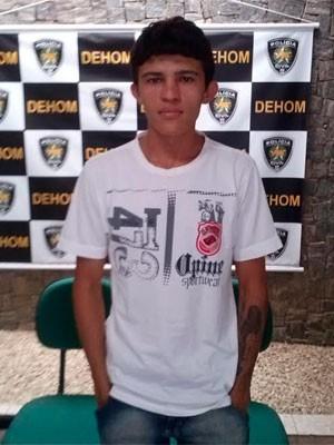 Tallys Tanilis de Oliveira Brito, de 24 anos, confessou o crime (Foto: Divulgação/Polícia Civil do RN)