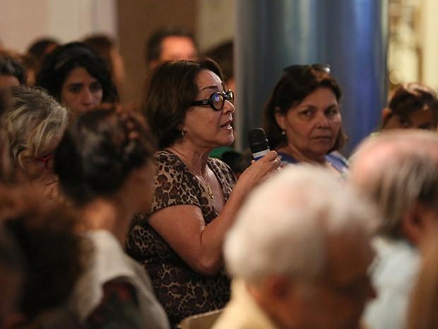 Nívea Maria interagiu com os colegas de elenco e toda a equipe  (Foto: Isabella Pinheiro/TV Globo)