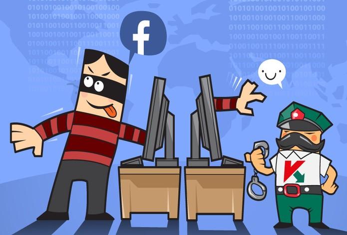 Facebook e Kapersky tem parceria para combater cibercriminosos e vírFacebook e Kaspersky tem parceria para combater cibercriminosos e vírus na rede social (Foto: Divulgação/Kaspersky)us na rede social (Foto: Divulgação/Kapersky)