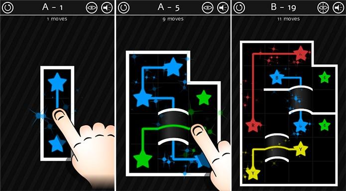 Catch é um puzzle para Windows Phone onde é preciso ligar estrelas (Foto: Divulgação/Windows Phone Store)