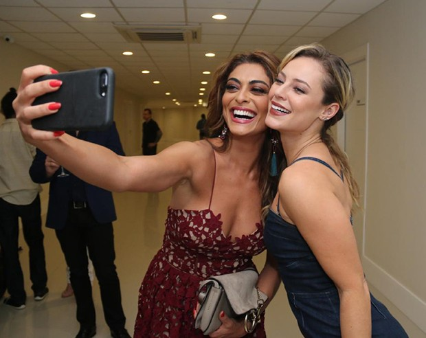 Juliana Paes e Paolla Oliveira (Foto: Daniel Pinheiro/AgNews )