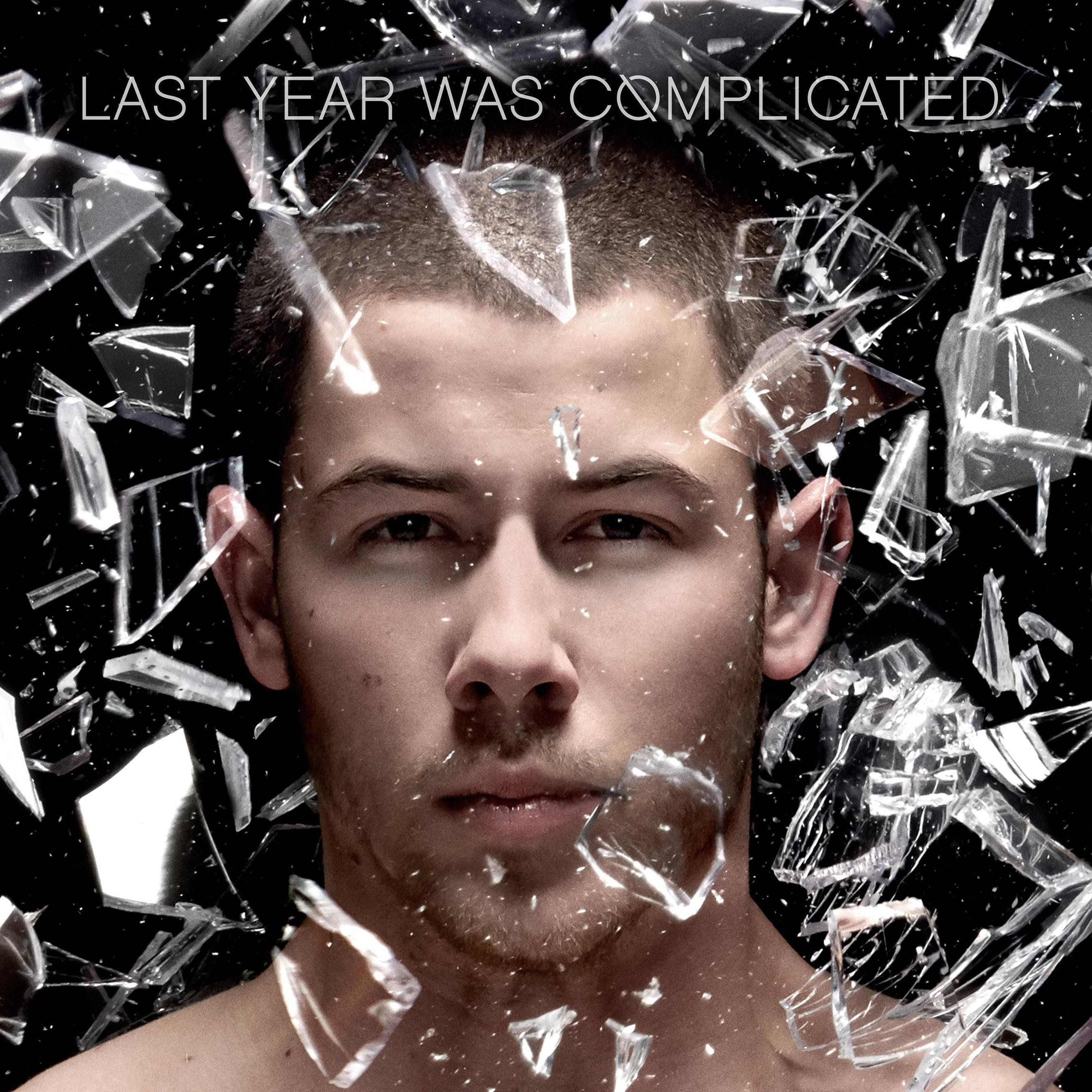 Capa do novo disco de Nick Jonas, 'Last Year Was Complicated' (Foto: Divulgao)