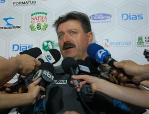 Leandro Campos, técnico do Treze (Foto: Silas Batista / GloboEsporte.com)