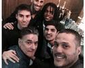Julio César e Jonas se reúnem para jantar de aniversário de argentino do Benfica